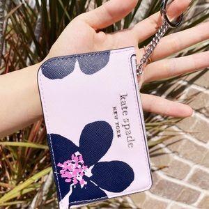 Kate Spade Grand Flower Cardholder🌸💞
